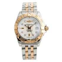 Breitling C71356 Very good Gold/Steel Quartz
