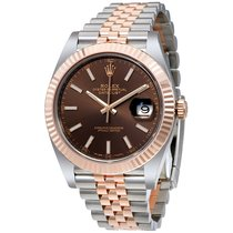 Rolex Datejust II Gold/Steel 41mm Brown No numerals United States of America, Florida, Tampa