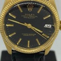 Rolex Oyster Perpetual Date 6627 Dobry Żółte złoto 31mm Automatyczny