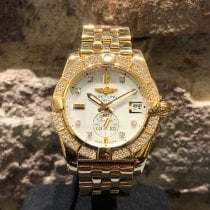 Breitling Galactic 36 Yellow gold Mother of pearl