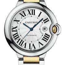 Cartier Gold/Stahl 42mm Automatik W2BB0022 neu