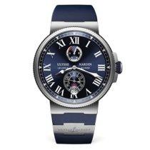Ulysse Nardin Marine Chronometer Manufacture Steel 43mm Blue Roman numerals United States of America, Florida, Sunny Isles Beach