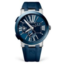 Ulysse Nardin Executive Dual Time 243-00-3/43 New Steel 43mm Automatic