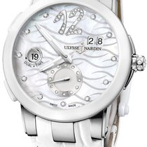 Ulysse Nardin Executive Dual Time Lady Steel 40mm Mother of pearl Roman numerals United States of America, Florida, Sunny Isles Beach