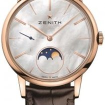 Zenith Rose gold Automatic Mother of pearl 36mm new Elite Ultra Thin