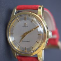 Omega Seamaster Gold/Steel 34mm White No numerals