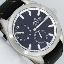 Alpina Alpiner Сталь 45mm Черный Aрабские