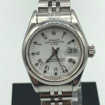 Rolex Oyster Perpetual Lady Date Steel 26mm White United Kingdom, London
