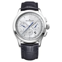 Jaeger-LeCoultre Master Chronograph Steel 40mm Silver United States of America, New York, New York City