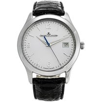 Jaeger-LeCoultre Master Control Date Steel 39mm Silver United States of America, New York, New York City