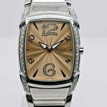 Parmigiani Fleurier pre-owned Quartz 35mm Champagne Sapphire crystal