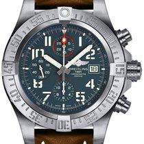 Breitling Avenger Bandit Titanium 45mm Grey Arabic numerals United States of America, New York, New York
