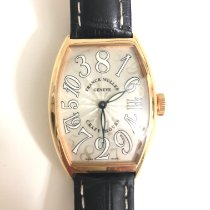 Franck Muller Crazy Hours Yellow gold 45mm Champagne Arabic numerals