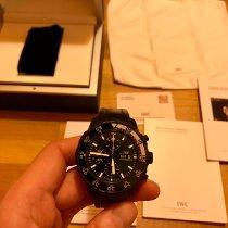 IWC Aquatimer Chronograph Acier 44mm Noir Sans chiffres France, Paris