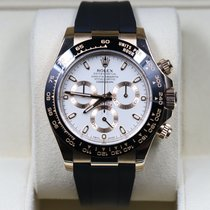 Rolex Rose gold Automatic White 40mm pre-owned Daytona