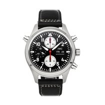 IWC Pilot Double Chronograph Steel 44mm Black United States of America, Pennsylvania, Bala Cynwyd