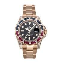 Rolex 126755SARU Or rose GMT-Master II 40mm occasion