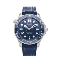 Omega 210.32.42.20.03.001 Steel Seamaster Diver 300 M 42mm pre-owned United States of America, Pennsylvania, Bala Cynwyd
