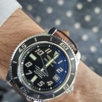 Breitling Superocean 42 Steel Black Arabic numerals United States of America, New York, Forest Hills