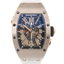 Richard Mille RM 037 Steel 52.63mm Silver No numerals