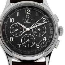 Zenith El Primero Chronograph Stahl 38mm Schwarz Arabisch Deutschland, Stuttgart