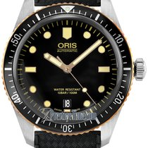 Oris Divers Sixty Five Steel 40mm Black United States of America, New York, Airmont