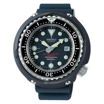 Seiko Tantalum Automatic Blue No numerals 52.4mmmm new Prospex