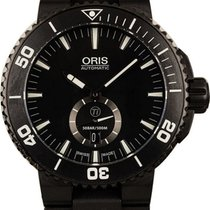 Oris Aquis Titan Titanium 46mm Black No numerals United States of America, New York, New York