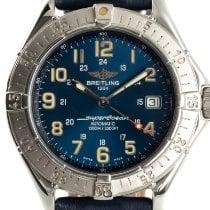 Breitling Superocean Chronograph II Acier 41mm Bleu