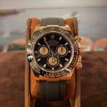 Rolex Daytona Or rose 40mm Noir France, Cannes