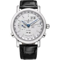 Ulysse Nardin GMT +/- Perpetual Platinum 40mm Silver