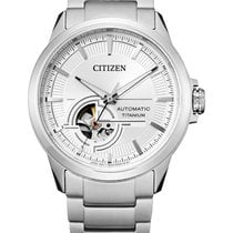 Citizen Titanium 41mm White No numerals