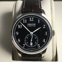 Union Glashütte 1893 Small Second Steel Black