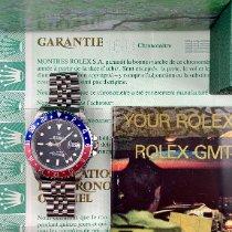 Rolex GMT-Master Otel 40mm Negru Fara cifre