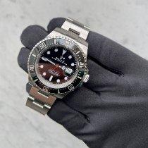Rolex Sea-Dweller Acero 43mm Negro Sin cifras