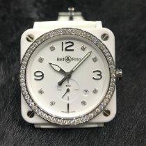 Bell & Ross BR S Bell & Ross  BRS 64 CSWH White Ceramic Diamond Unworn Ceramic 39mm Quartz