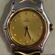 에벨 스포트웨이브 1057901 우수 금/스틸 23mm 쿼츠