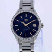 TAG Heuer Carrera Lady Acier 36mm Bleu