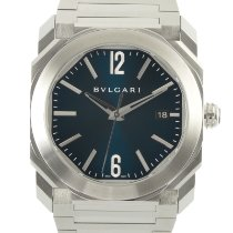 Bulgari Steel 38mm Automatic BGO38S pre-owned