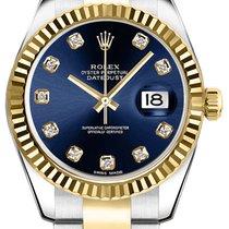 Rolex Lady-Datejust Gold/Stahl 26mm Blau Deutschland, Duisburg/München/Linz