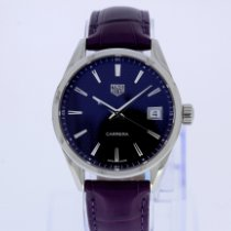 TAG Heuer Carrera Lady Сталь 36mm Фиолетовый Без цифр