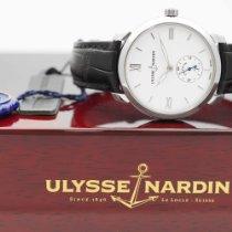Ulysse Nardin Acier Remontage automatique Blanc Romains 40mm nouveau Classico
