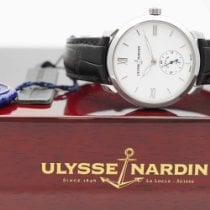 Ulysse Nardin Classico Acier 40mm Blanc Romains