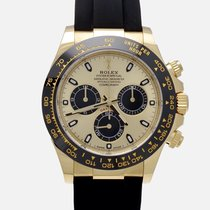 Rolex Daytona Or jaune 40mm Noir
