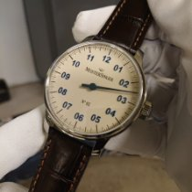 Meistersinger N° 02 new 2019 Manual winding Watch with original box and original papers Meistersinger No 02 AM6603N