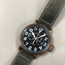 Zenith Pilot Type 20 Extra Special occasion 45mm Noir Chronographe Cuir
