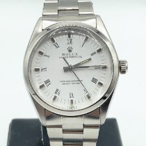 Rolex 1002 Steel 1983 Oyster Perpetual 34 34mm pre-owned United Kingdom, London