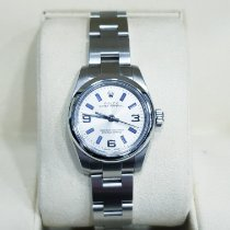 Rolex Oyster Perpetual 26 occasion 26mm Argent Acier