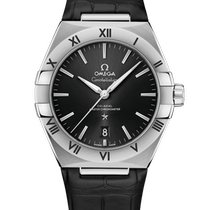 Omega Steel 39mm Automatic 131.13.39.20.01.001 new
