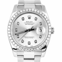 Rolex Steel 2010 Datejust 36mm pre-owned United States of America, New York, Lynbrook